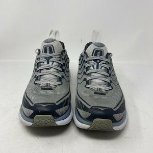 Hoka One One Men's Clifton Grey Running Shoes 10.5